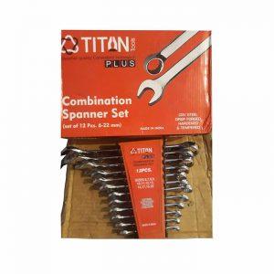 آچار یکسر رینگ 12 عددی titan