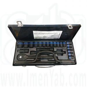 جعبه بکس 24 پارچه فشار قوی King Tools