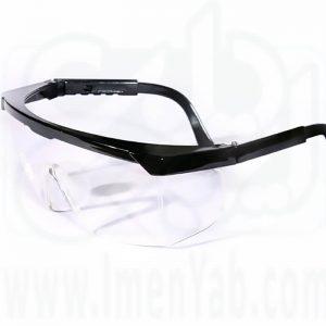 عینک ایمنی آزمایشگاهی UV400