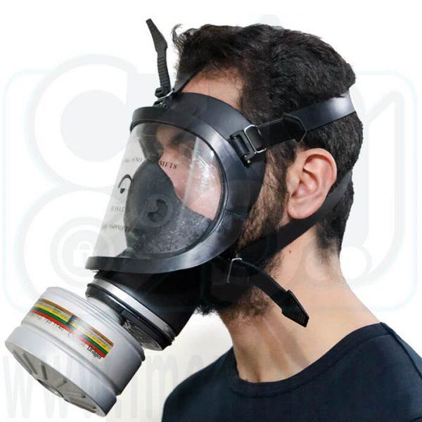 ماسک تمام صورت شیمیایی Beasat