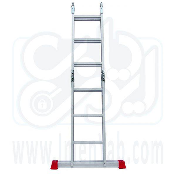 نردبان تاشو چهار تکه 12 پله هارمونی