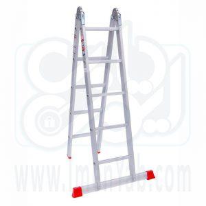نردبان تاشو 2 تکه 10 پله هارمونی