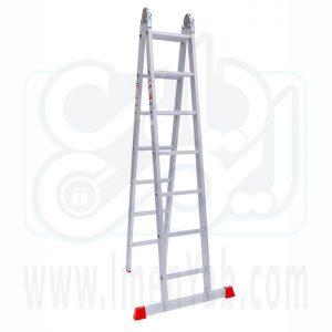 نردبان تاشو 2 تکه 14 پله هارمونی
