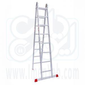 نردبان تاشو 2 تکه 16 پله هارمونی