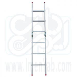 نردبان تاشو 2 تکه 6 پله هارمونی