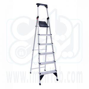 نردبان خانگی 6 پله اطلس