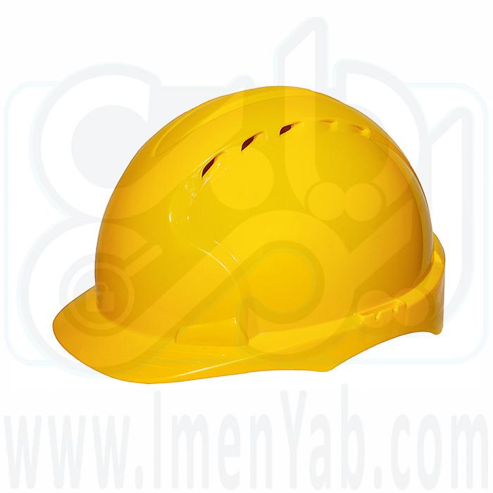 کلاه ایمنی مهندسی زرد JSP