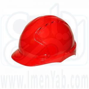 کلاه ایمنی مهندسی قرمز JSP