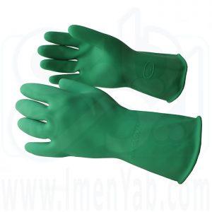 دستکش لاستیکی میهن