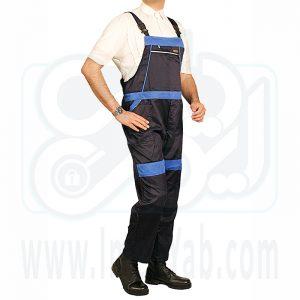 لباس کار دوبنده سرمه ای آبی