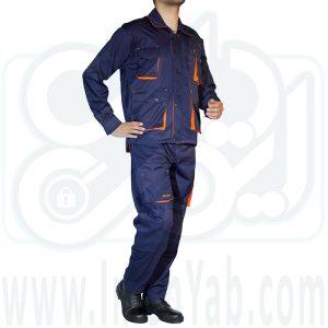 لباس کار مهندسی پاورز سرمه ای