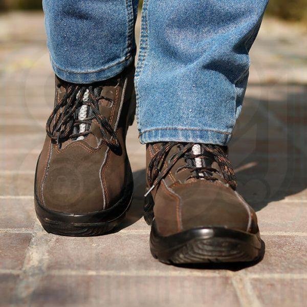 کفش ایمنی مهندسی میکروفیبر 3max