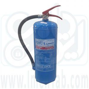 کپسول آتش نشانی آب و گاز 6 کیلویی پیشرو