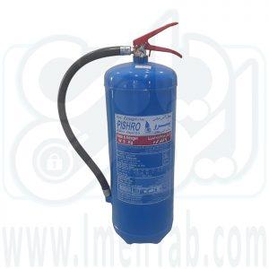 کپسول آتش نشانی آب و گاز 9 کیلویی پیشرو