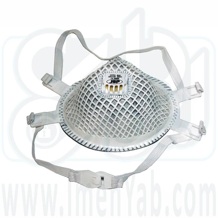 ماسک گردوغبار اکتیوکربن JSP 832 FFP3