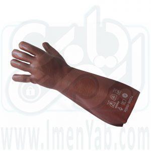 دستکش ضد اسید 40 سانت پوشا