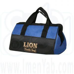 کیف ابزار با آستر و ابر 38 سانت Lion